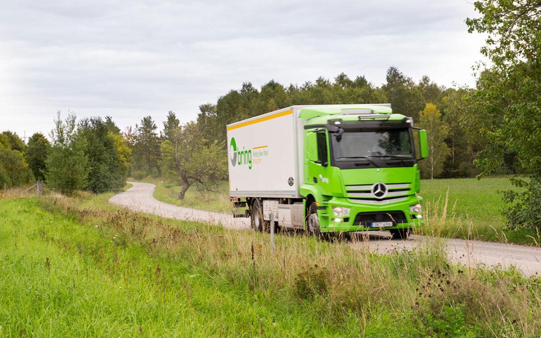 C-kortchaufför sökes för kyltransport och distribution
